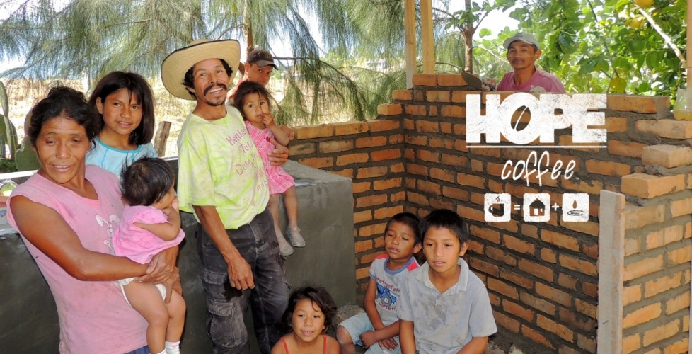 HOPE Coffee provides water for the Calix Family