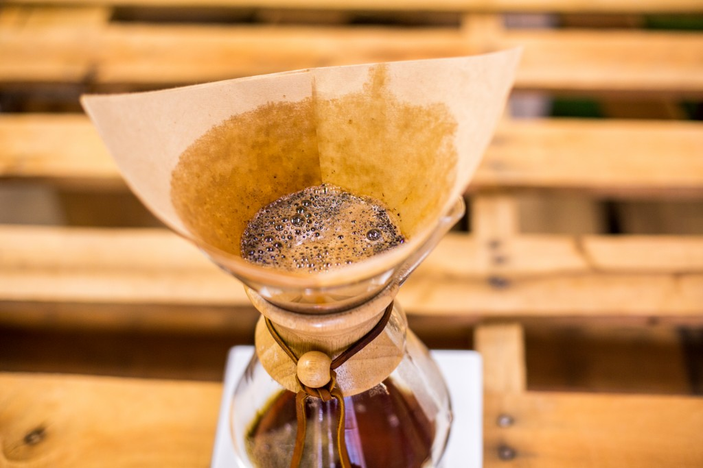 Chemex Brewing Method - Bloom Grinds