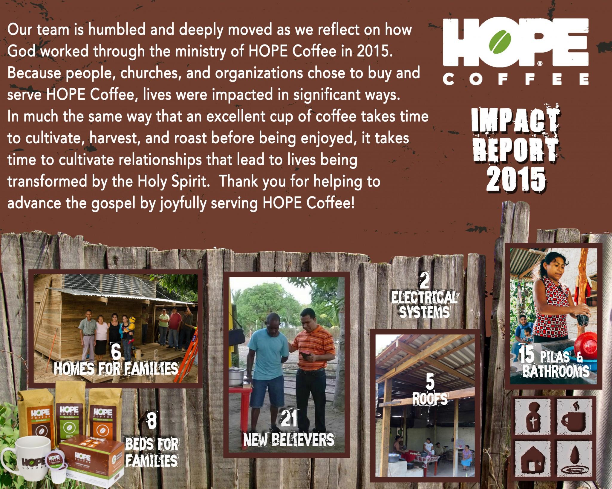 Social Media HOPE IMPACT REPORT 2015
