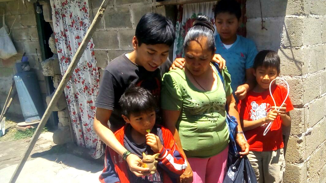 Francisca and Grandsons