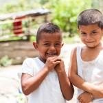 Two cousins from a rural community have just begun their educational journey. Our prayer for them is that they will make it through 6th grade and beyond—a major challenge for Honduran children.
