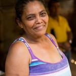 For years Juanita had no option but to retrieve unsafe water from a nearby creek for her family. After HOPE Coffee partnered with a local church she now has access to clean water in her home!