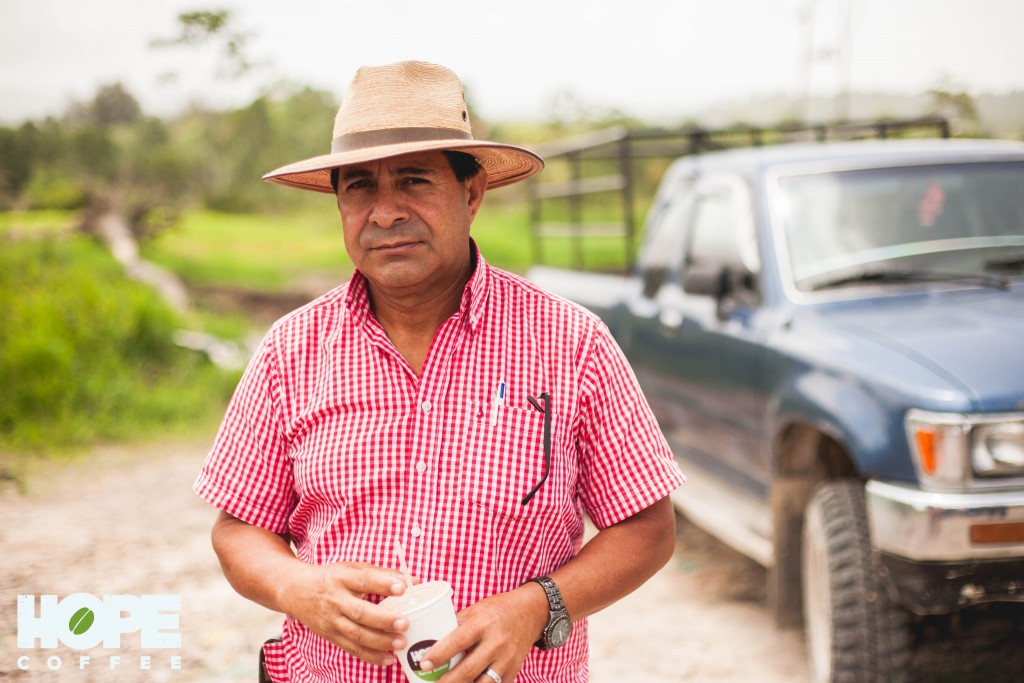Rodimiro is proud of what he does and very knowledgeable about coffee. We know our coffee farmers and where our coffee beans come from and that's just one of things that makes HOPE Coffee different!