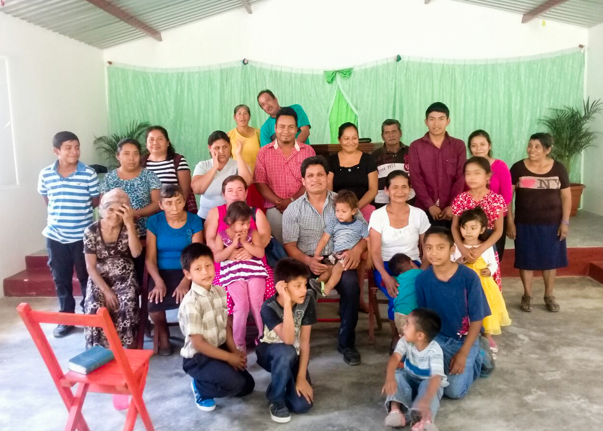 (July) Chiapas, Mexico-- Solo Cristo Salva along with Pastor Sergio Castillo Colunga partnered with HOPE Coffee to build Antonio, Maria and their two kids a bathroom of their very own!
