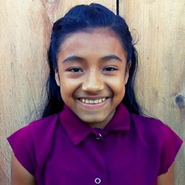 Jesmin is a 7th-grader who would like to be a preschool teacher one day.