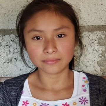 Maybelin is a 12-year-old who likes to play soccer. She wants to be a veterinarian when she grows up.